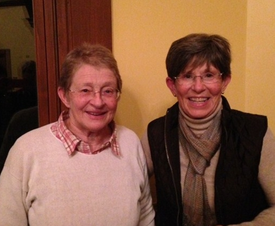 Mary Holland and Trustee Pam Durrant
